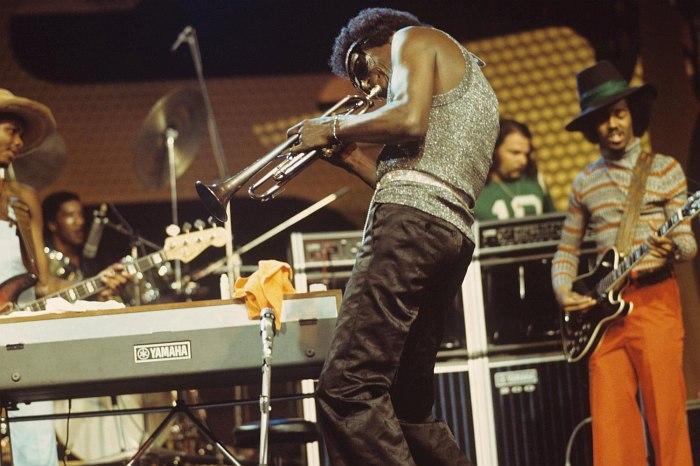 Майлз Дэйвис на сцене Montreux Jazz Festival