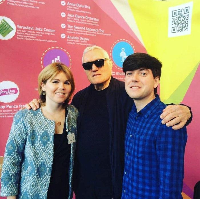 Дина Нургалеева (агентство Magnetophone Music), Джерри Текенс (Criss Cross Jazz), Анатолий Осипов