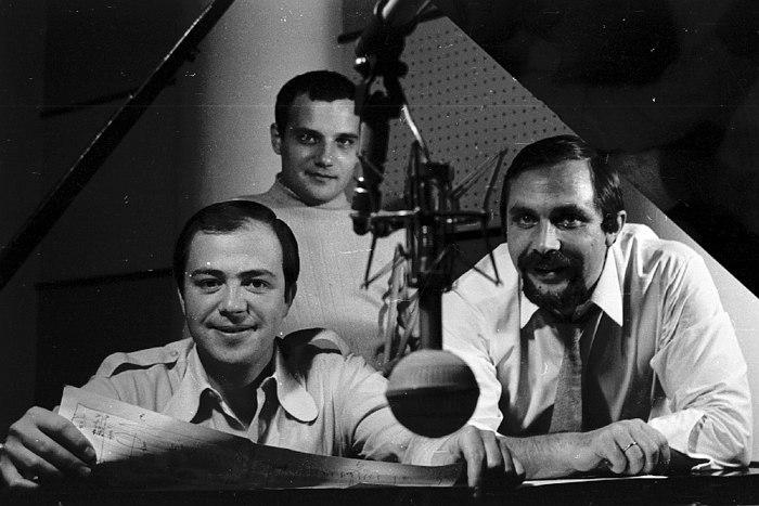 Игорь Бриль (слева) и его трио, 1971 (фото © Владимир Лучин)