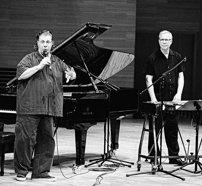 Чик Кориа и Гэри Бёртон в Москве, 2006, фото © Владимир Коробицын