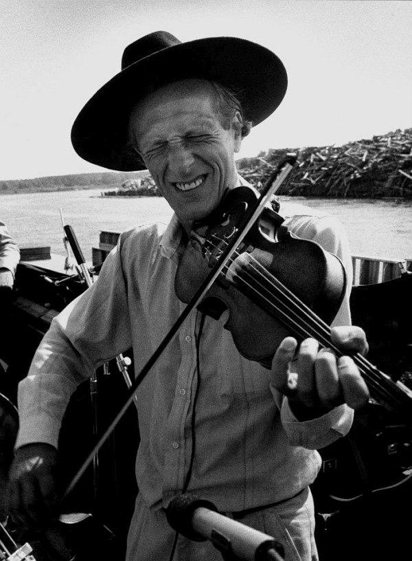 Давид Голощёкин в США (Салем, штат Небраска), начало 1990-х. Фото © Александр Смирнов