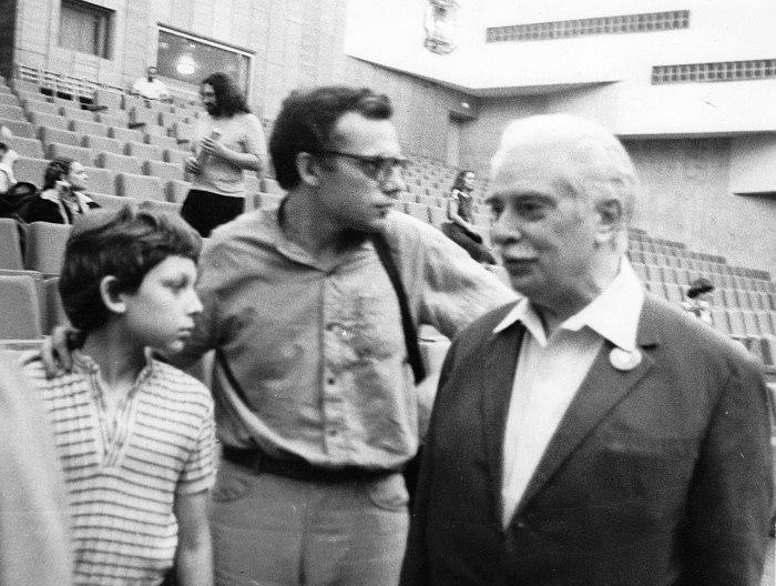 1984: Яков Окунь, Михаил Окунь, Олег Лундстрем (фото из архива Якова Окуня)