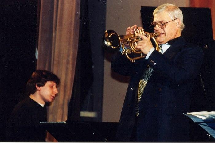 Яков Окунь, Герман Лукьянов, 2000 (фото © Павел Корбут)
