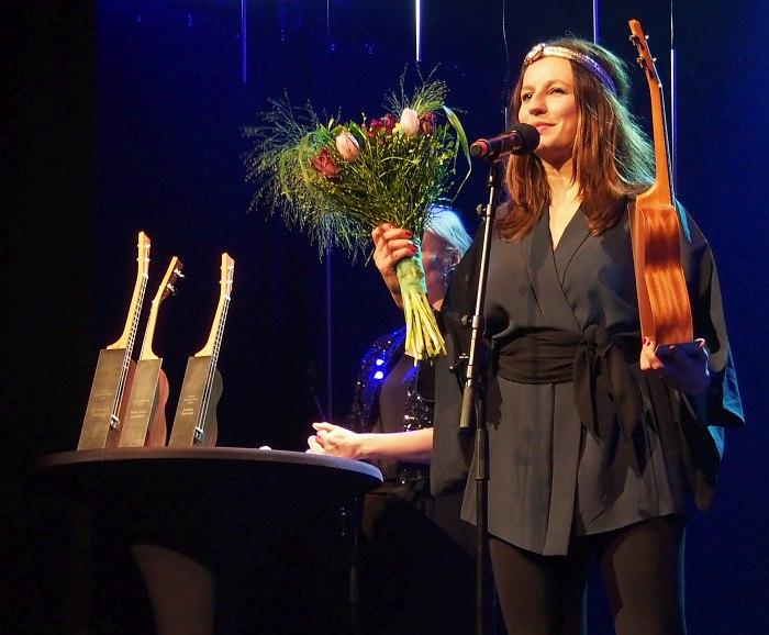 Мария Фауст - лауреат Эстонской джазовой премии в главной номинации