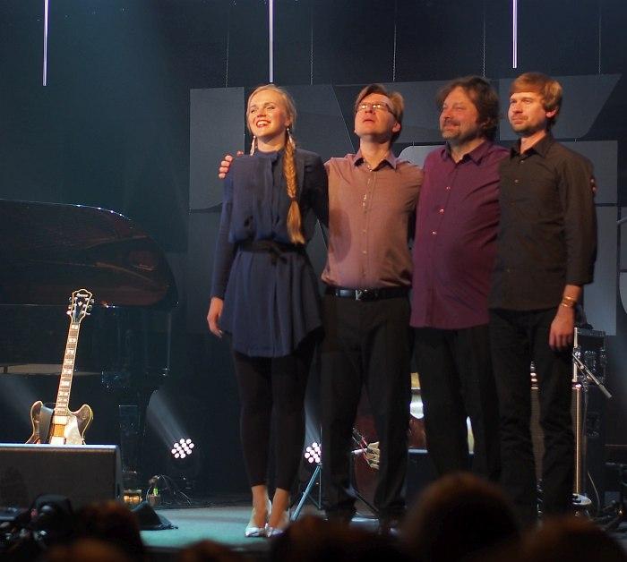Kadri Voorand Quartet: Вооранд, Силламаа, Реммель, Абнер