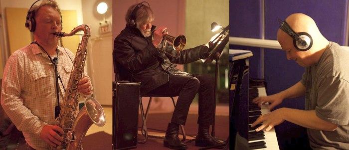 Олег Киреев, Том Харрелл, Кит Джаворс: фото из студии, где записывался альбом «The Meeting»