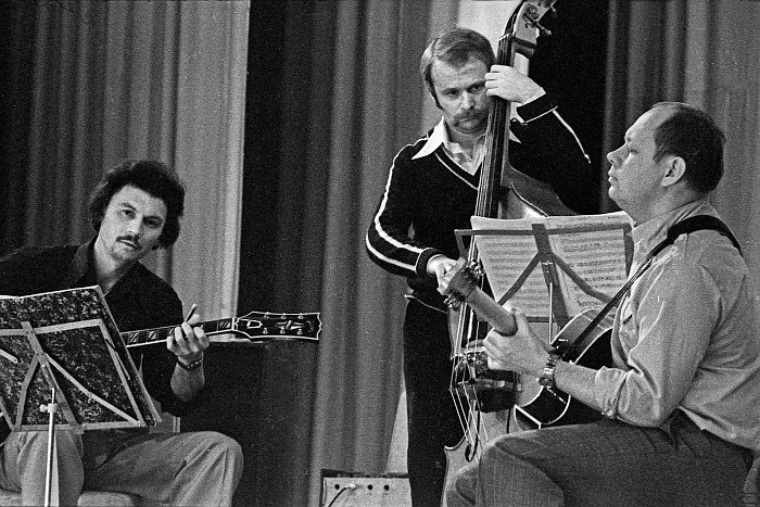 Алексей Кузнецов, Алексей Исплатовский, Николай Громин (фото: Александр Забрин)