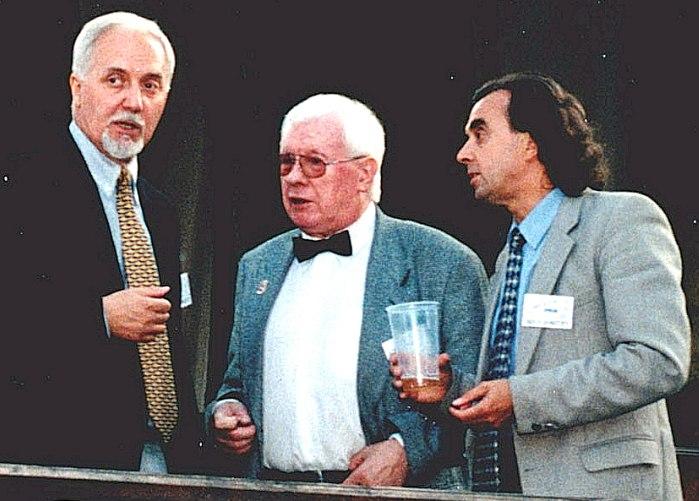Михаил Грин, Юрий Саульский, Евгений Балашов, 1999