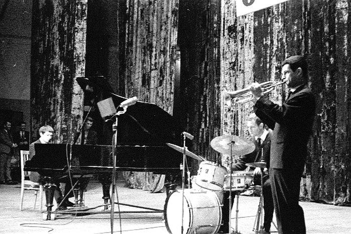 Трио Германа Лукьянова, 1967 (фото: Владимир Лучин)