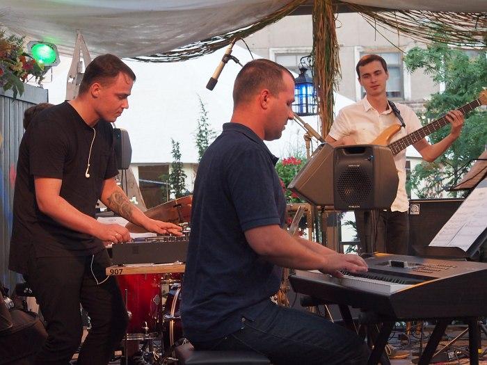 Jazzatomy: Dmitrijs Šaligins, Artjoms Sarvi , Jānis Rubiks