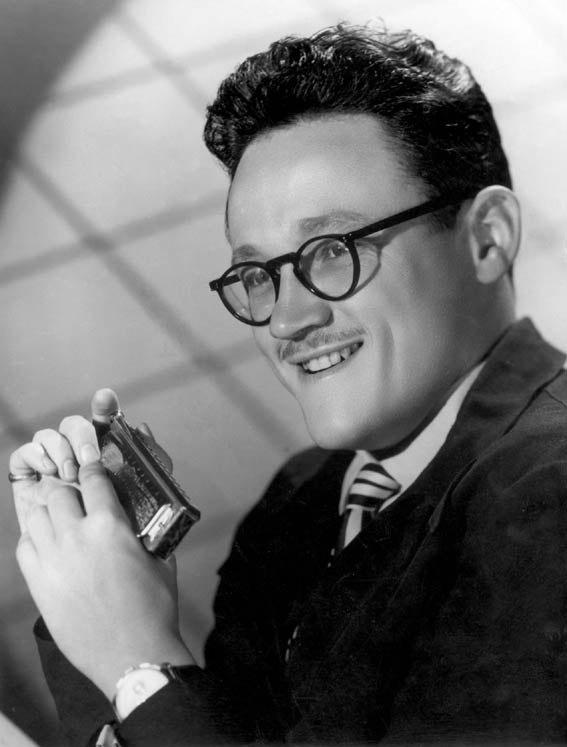 Toots Thielemans рекламное фото 1950-х гг.