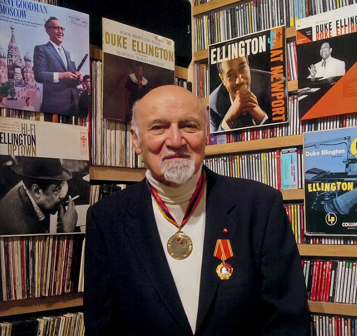 George Avakian (photo © Ian Clifford, 2003)