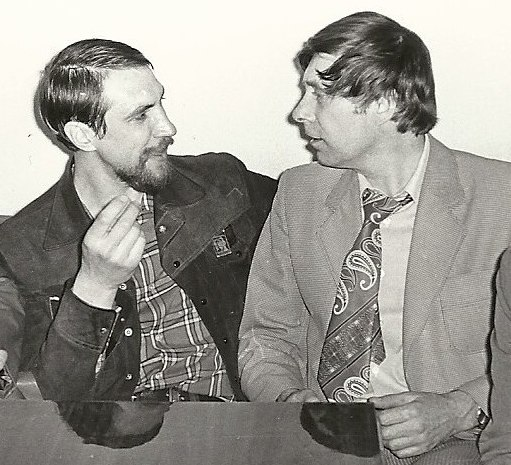 Валерий Коннов и Лев Бекасов, 1980