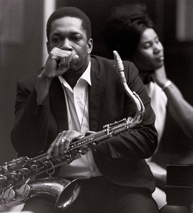 John Coltrane, Alice McLeod, 1965 (photo © Chuck Stewart)