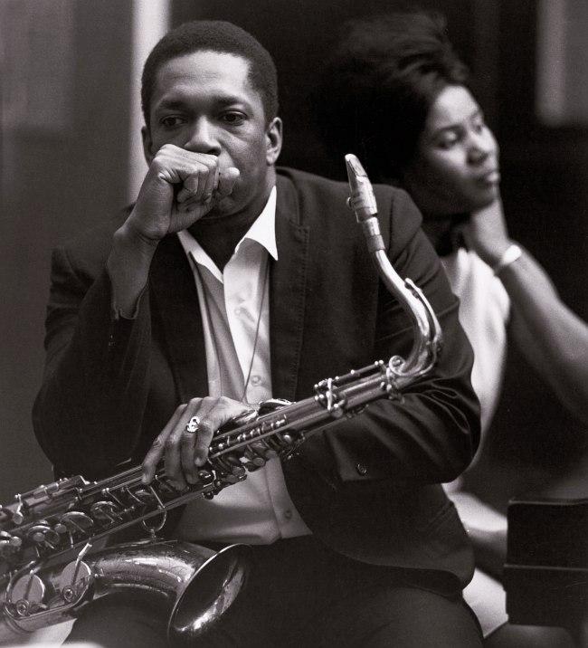 John Coltrane, Alice McLeod, 1965 (photo © Chuck Stewart)