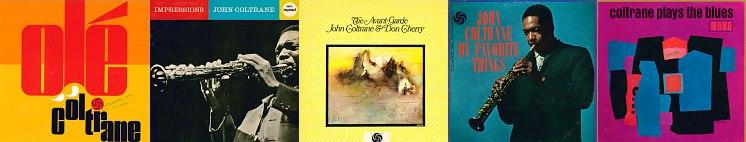 Оригинальные обложки альбомов Джона Колтрейна из коллекции Михаила Сапожникова, которые будут представлены в экспозиции