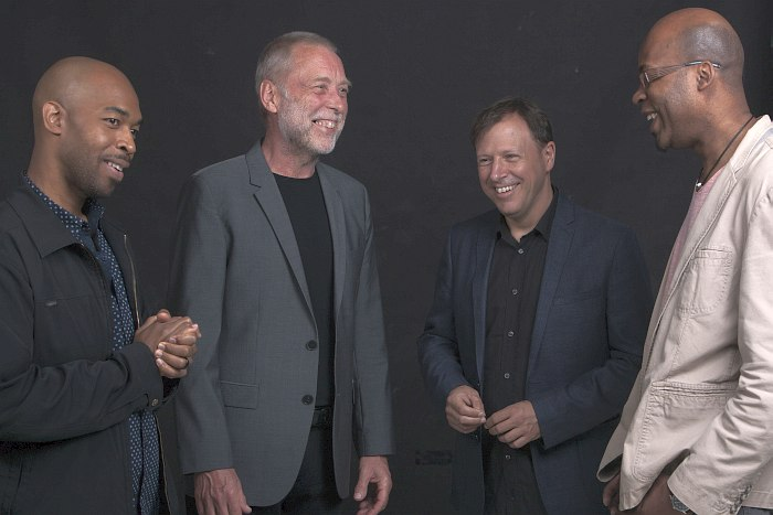 Aziza: Eric Harland, Dave Holland, Chris Potter, Lionel Loueke (photo © Govert Driessen)