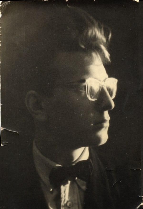Единственная сохранившаяся у автора фотография: Владимир Филатов - джазмен 50-х
