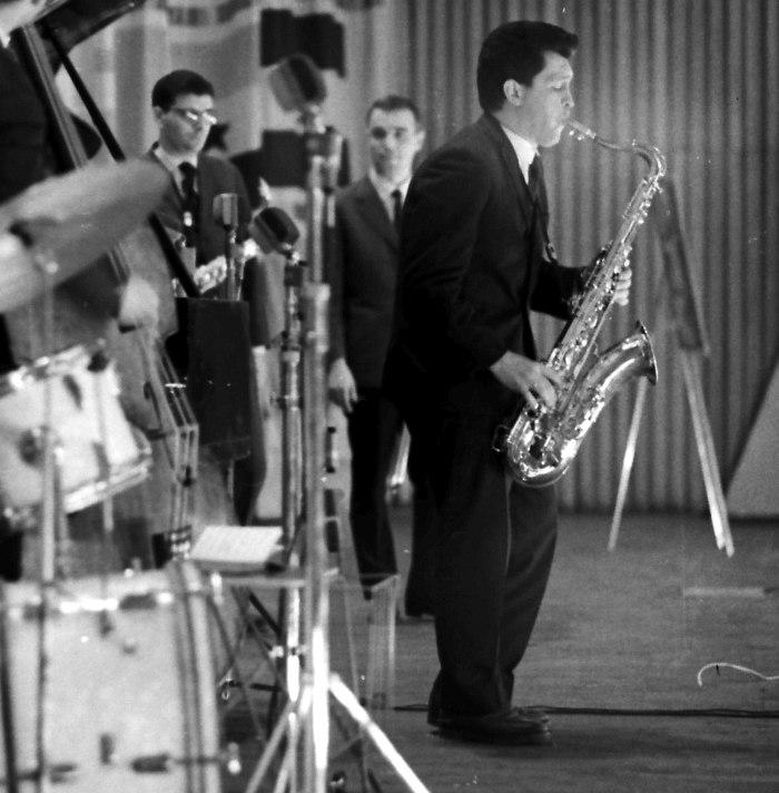Алексей Зубов на Московском джаз-фестивале 1965 г. (фото © Михаил Кулль)