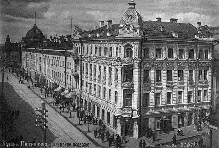 Гостиница и ресторан «Казанское подворье», впоследствии «Казань», в которой долго жили, а впоследствии и работали в ресторане музыканты оркестра О. Лундстрема
