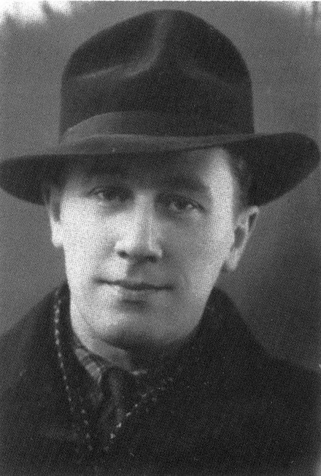 Виктор Деринг на фотографии 1950 года
