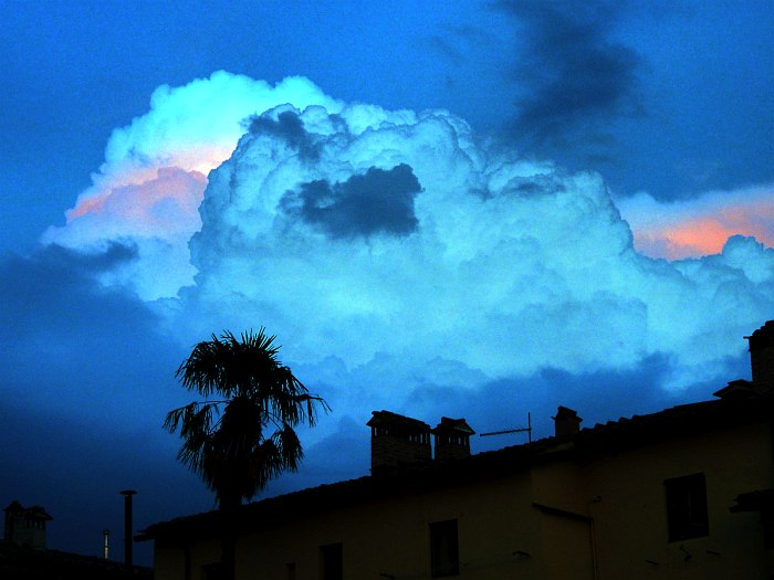 Закат над Сиеной