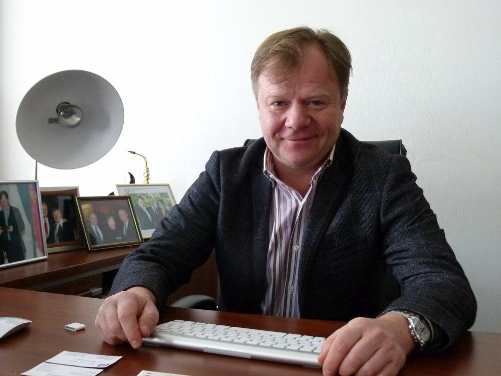 Игорь Бутман в своём кабинете на базе Московского джазового оркестра