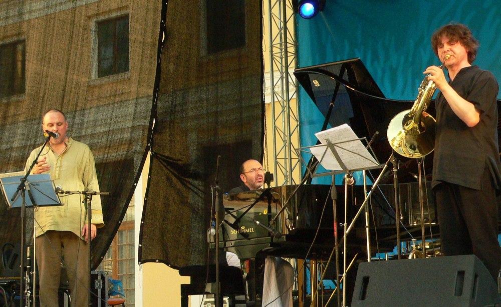 Moscow Art Trio на фестивале «Усадьба Jazz» (2006), фото © Кирилл Мошков, «Джаз.Ру»