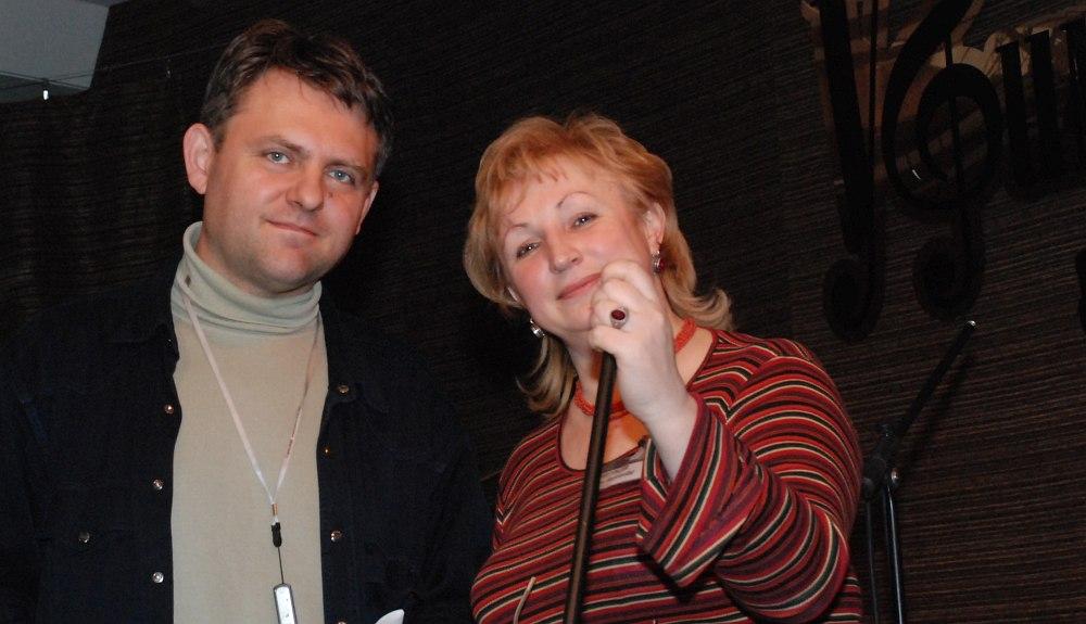 Звукорежиссёр Илья Пилюгин и директор Уфимского джаз-клуба Лилия Прокофьева