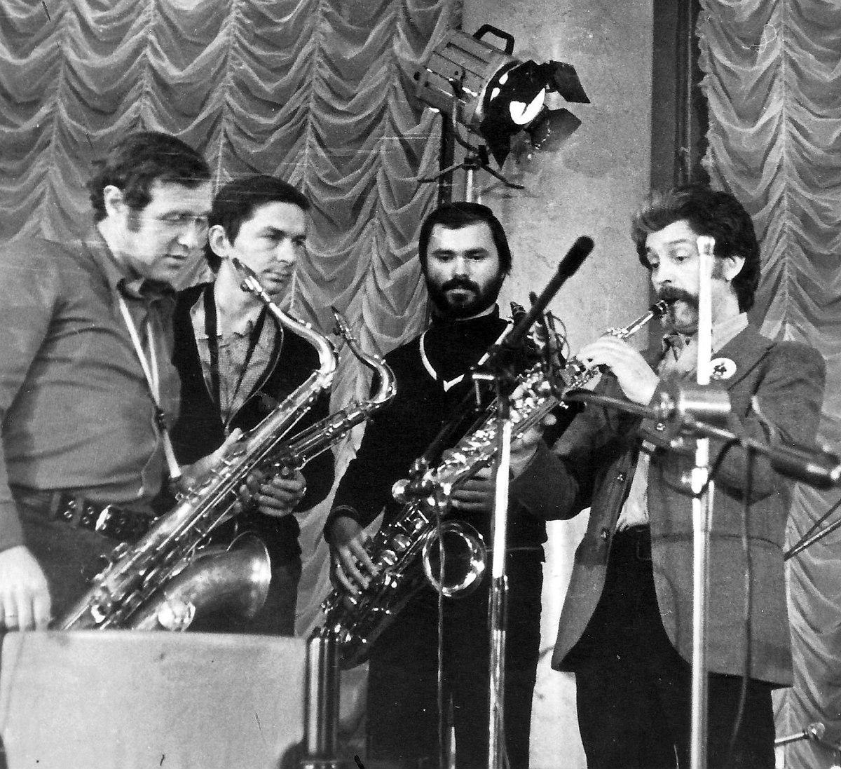 1979, ДК Медиков: Виталий Клейнот, Александр Родионов, Сергей Гурбелошвили, Алексей Зубов