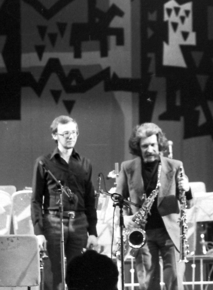 Игорь Саульский, Алексей Зубов. 1980 (фото: Михаил Кулль)
