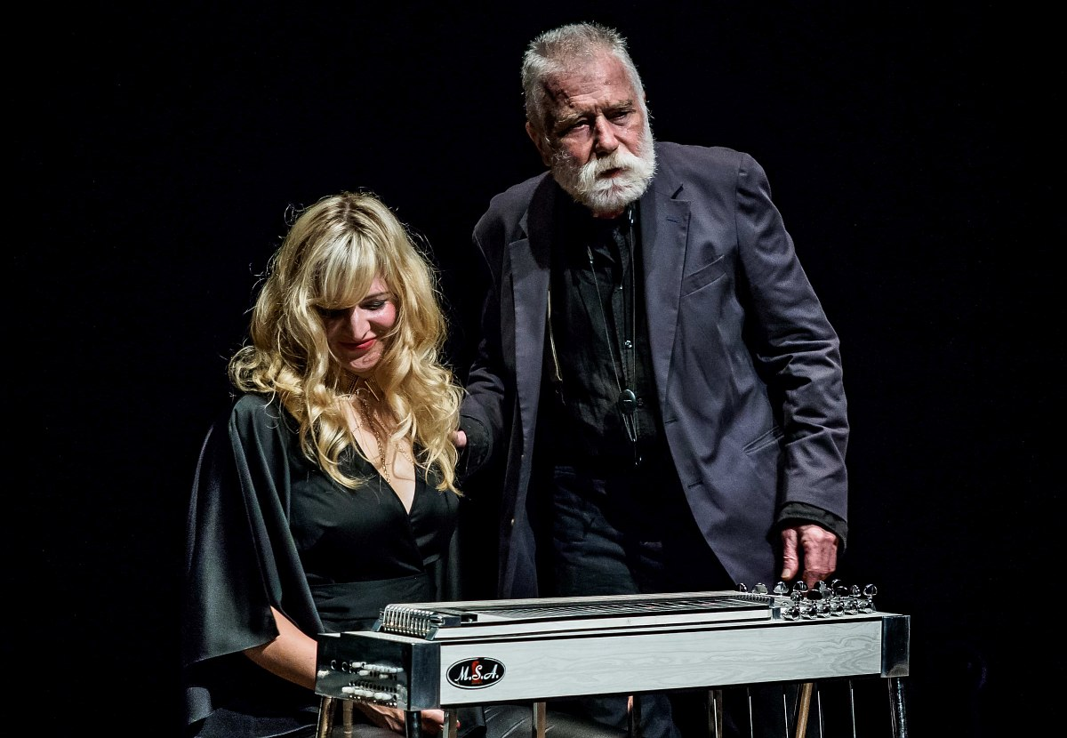 Heather Leigh, Peter Brötzmann (photo © Peter Gannushkin)