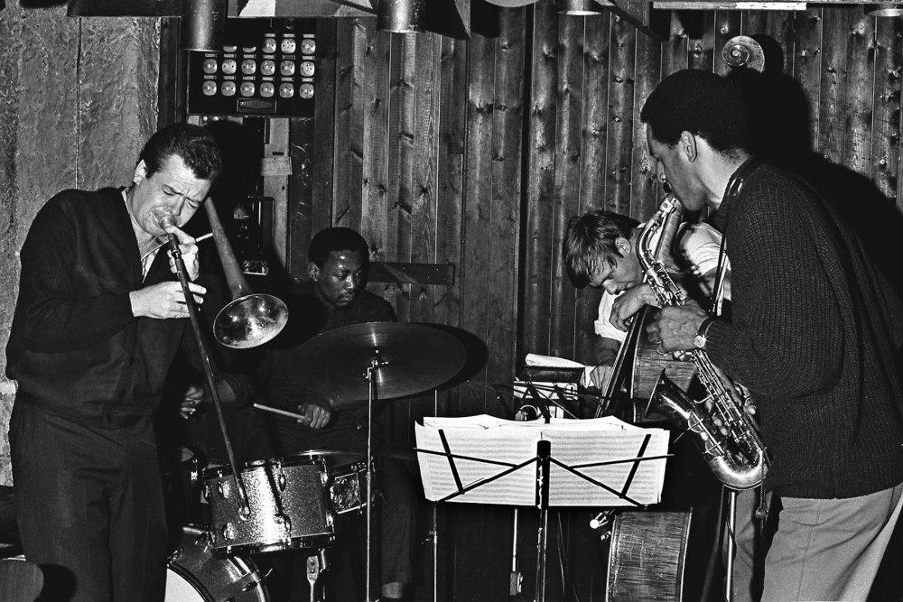 New York Art Quartet, 1965 (Розуэлл Радд - крайний слева)
