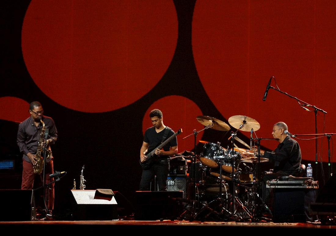 Ravi Coltrane, Matt Garrison, Jack DeJohnette
