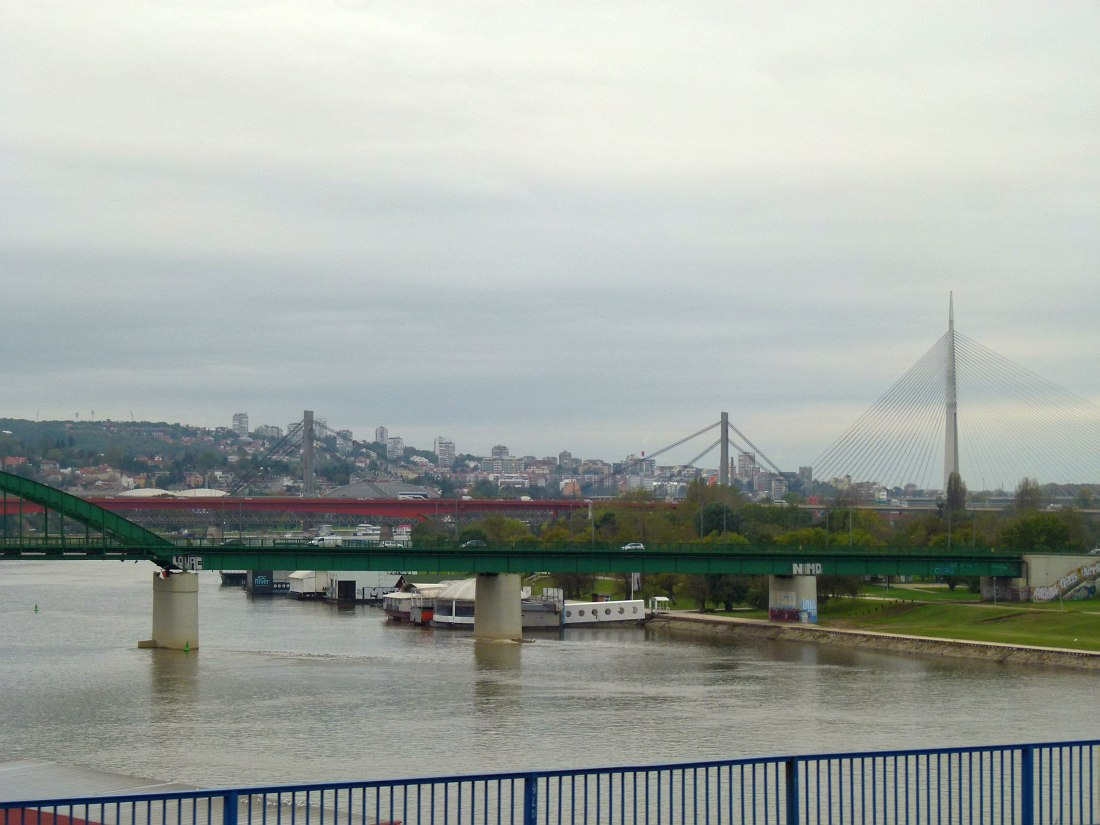 Белград. Мосты через Дунай