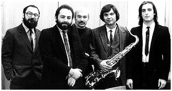 Ансамбль Николая Панова, 1990-е (справа Лев Кушнир)
