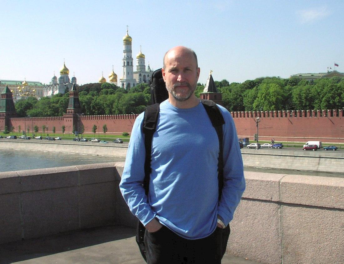 Джон Скофилд в Москве, май 2003 (фото © Кирилл Мошков, «Джаз.Ру»)