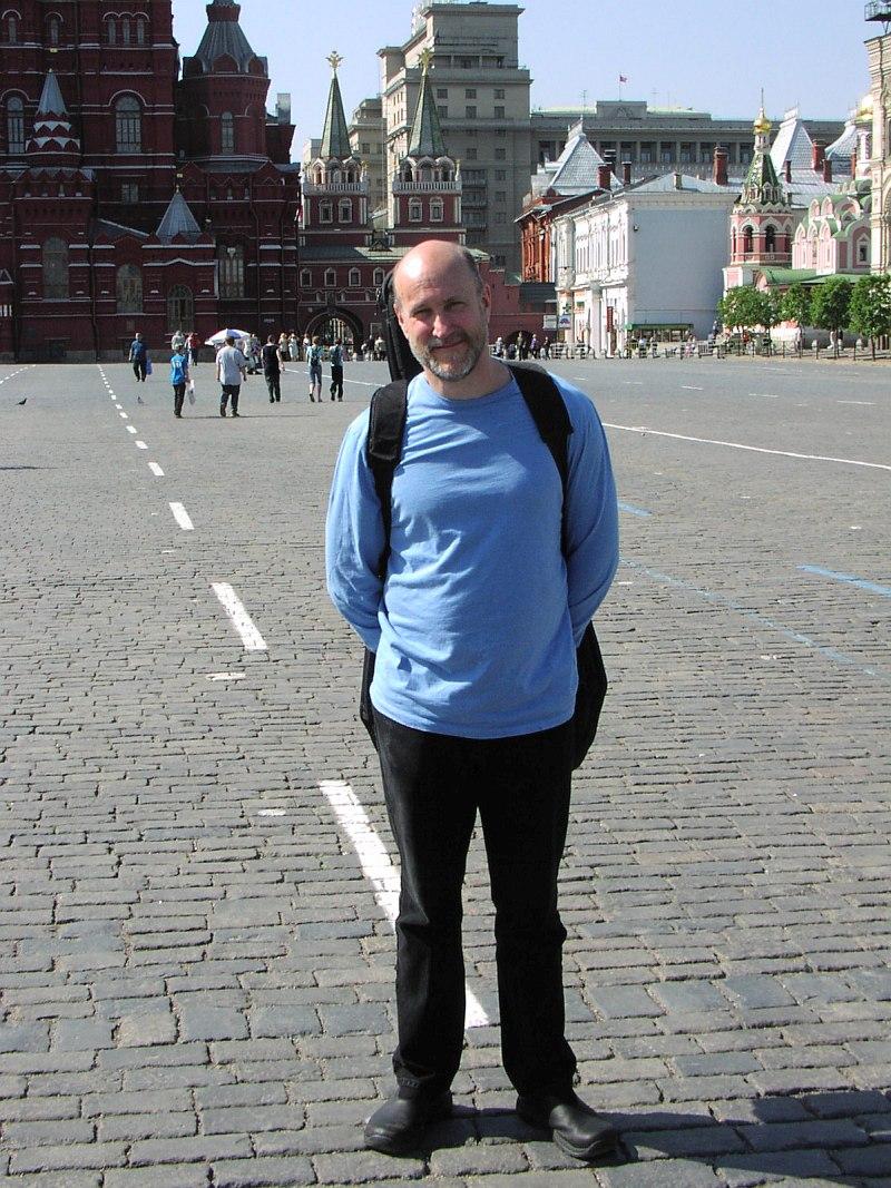 Джон Скофилд на Красной площади, 27.05.2003 (фото © Кирилл Мошков, «Джаз.Ру»)