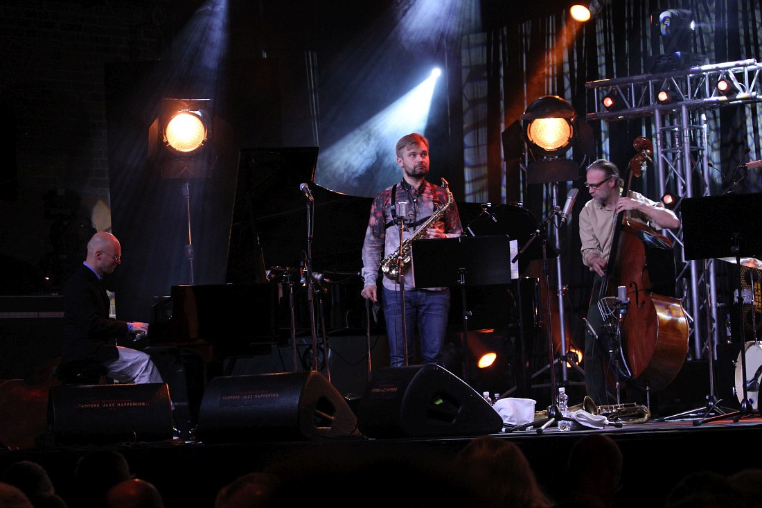 Jazzliiton Juhlaorkesteri: Kari Ikonen, Mikko Innanen, Ulf Krokfors