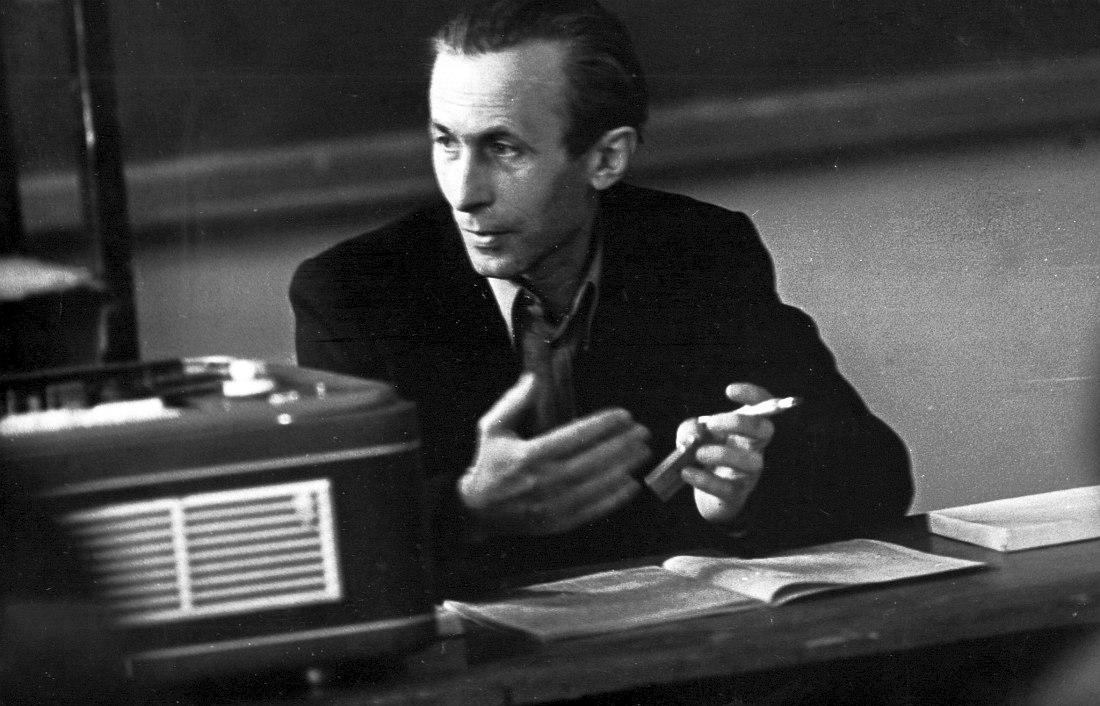 Юрий Верменич - преподаватель истории джаза