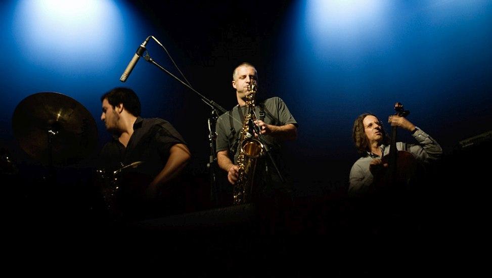 Rodrigo Amado Motion Trio (photo © Vera Marmelo)