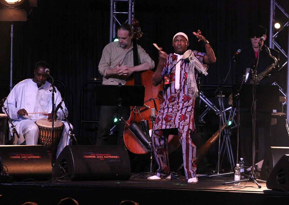Krakatau & Senegal Drums