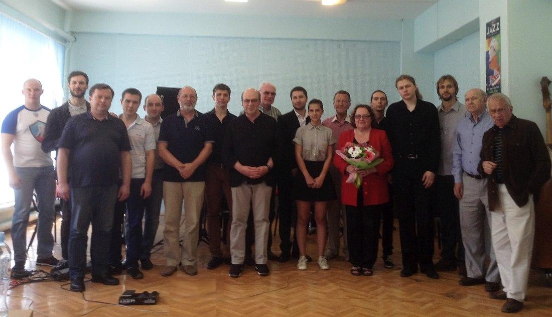 Выпускники и педагоги кафедры, 2016