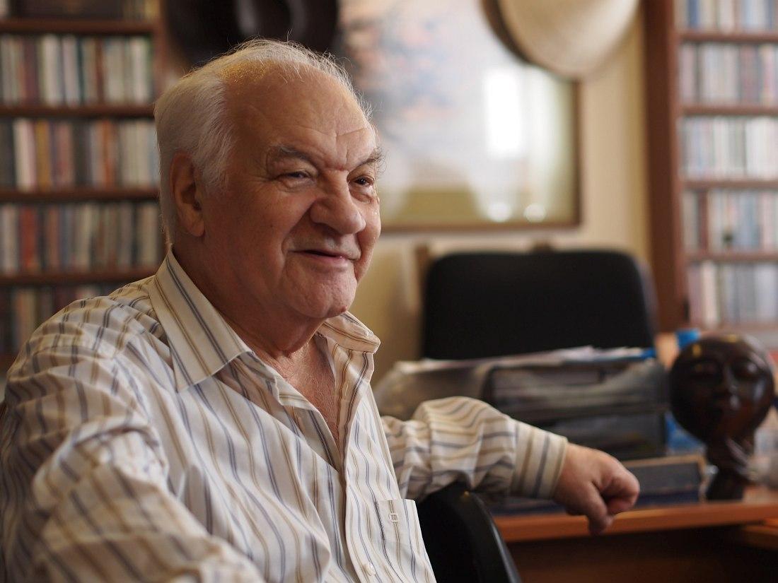 В.Б. Фейертаг в Ярославском джазовом центре, 2015 (фото © Кирилл Мошков, «Джаз.Ру»)