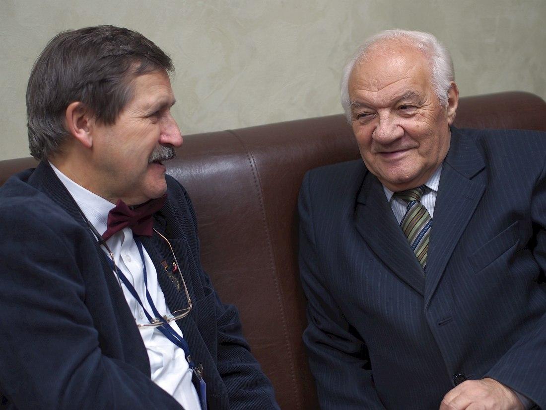 Игорь Гаврилов и Владимир Фейертаг (фото © Кирилл Мошков, «Джаз.Ру»)