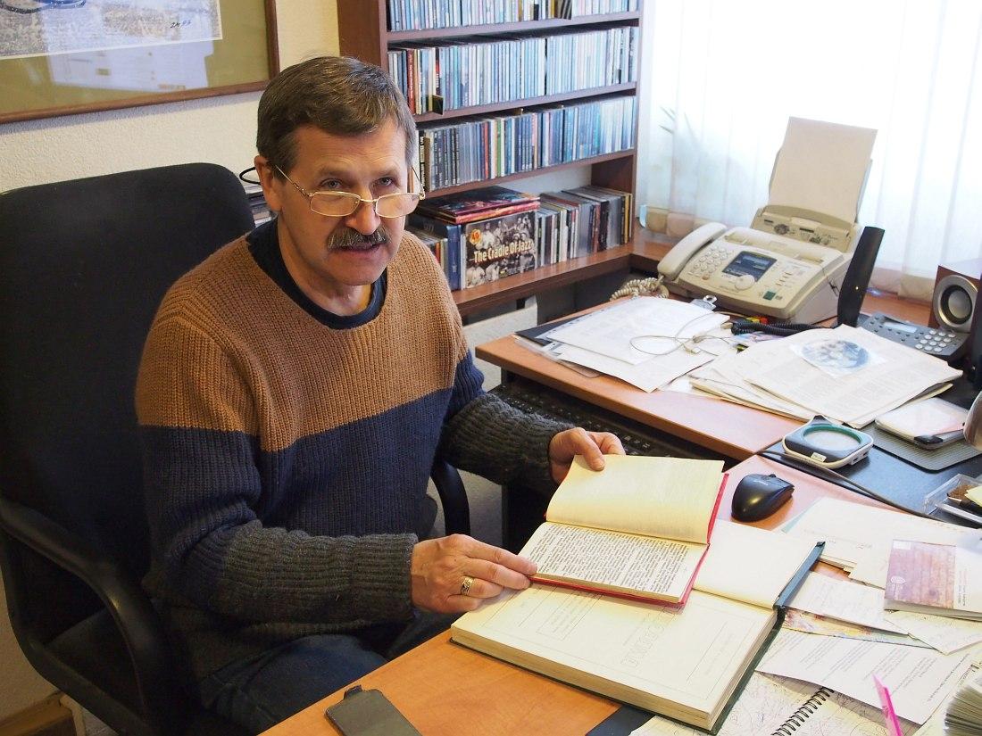 Игорь Гаврилов - директор Джаз-центра (фото © Кирилл Мошков, «Джаз.Ру», 2015)