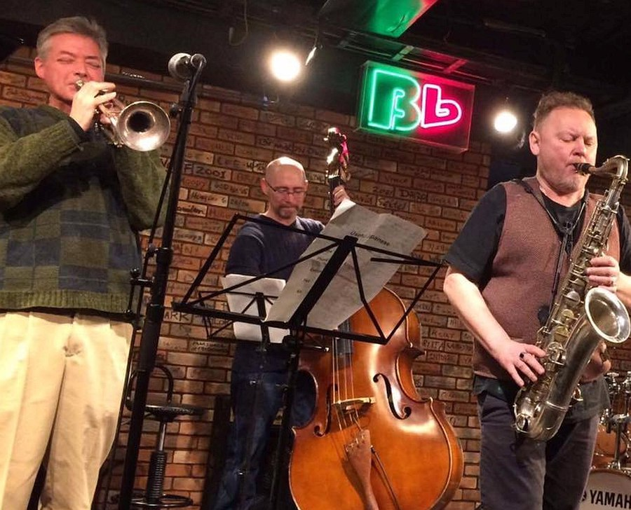 Neil Stalnaker, Jeff Curry, Oleg Kireyev @Tokyo B Flat Club