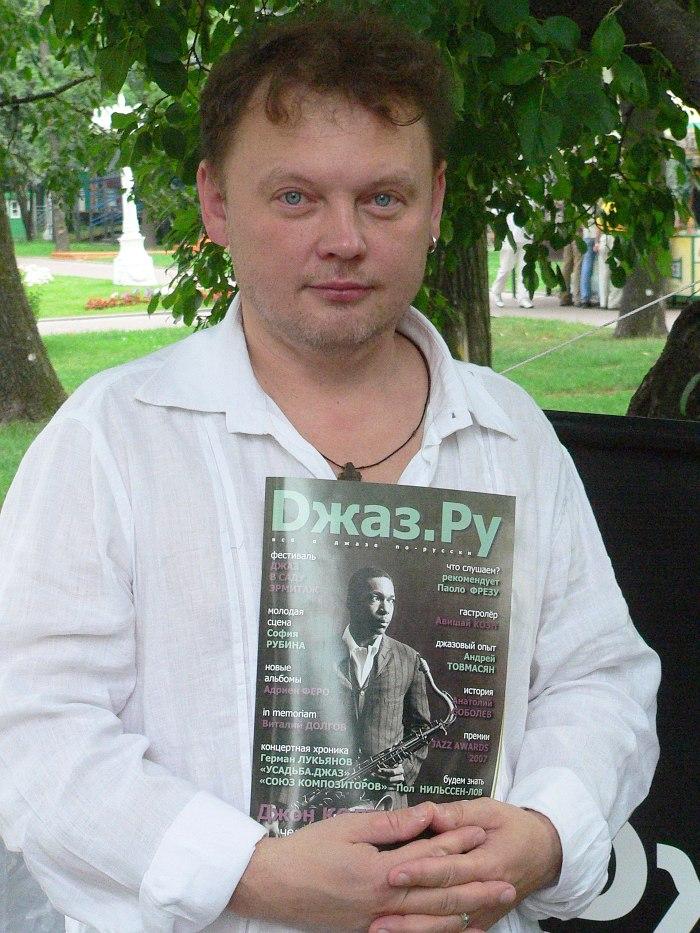 Олег Киреев летом 2007 (фото © Кирилл Мошков, «Джаз.Ру)