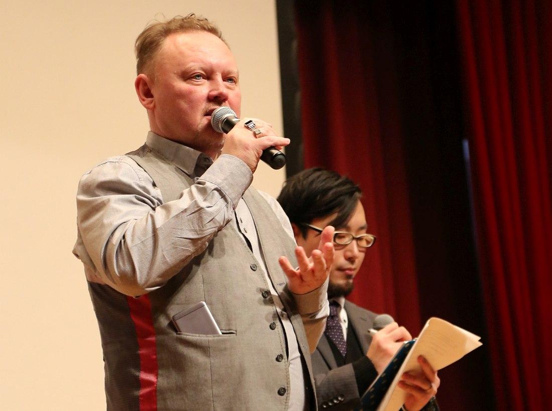 Олег Киреев на фестивале российских музыкальных фильмов и музыкальных видео в Токио, 28.01.2017