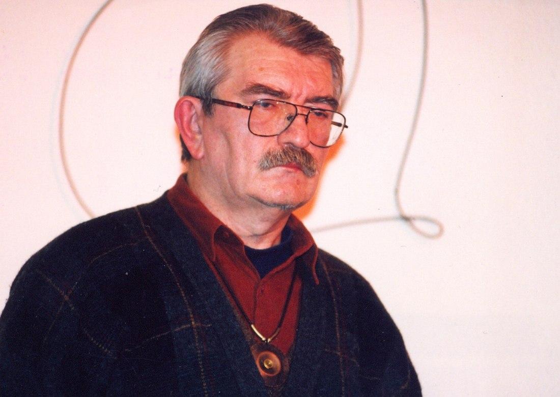 Юрий Маркин в старом «Джаз Арт клубе» на Беговой, 1998